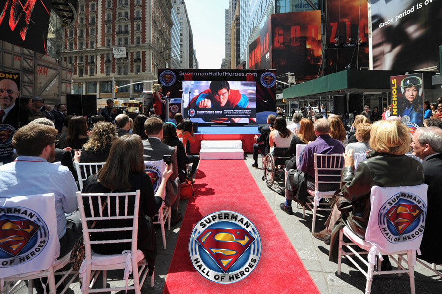 Superman Hall of Heroes Launch